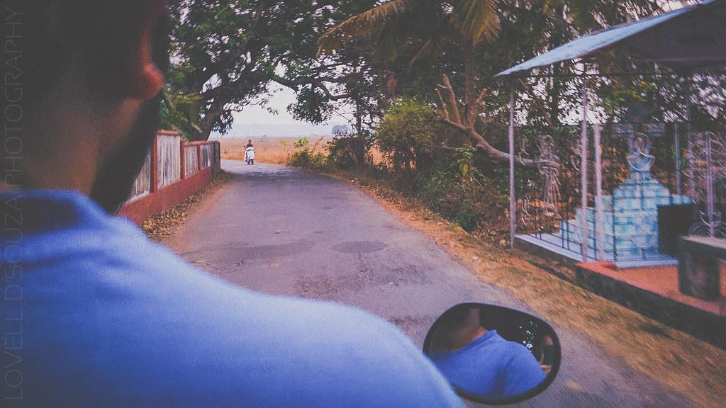 Riding through Divar