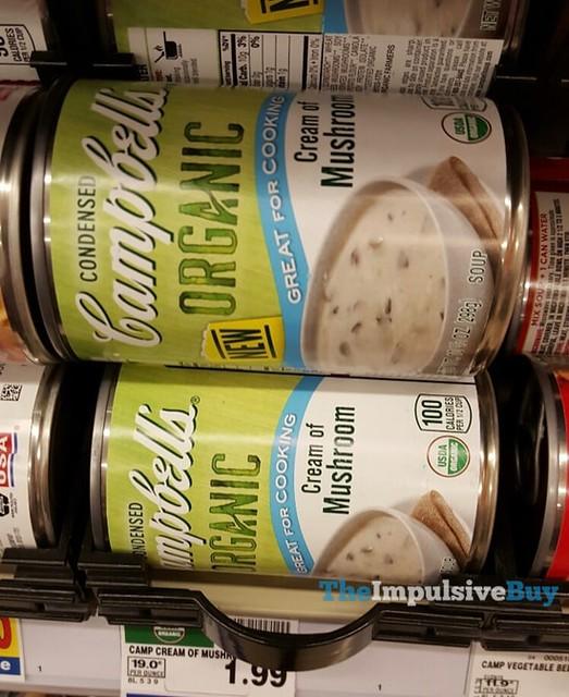 Campbell's Organic Cream of Mushroom Soup