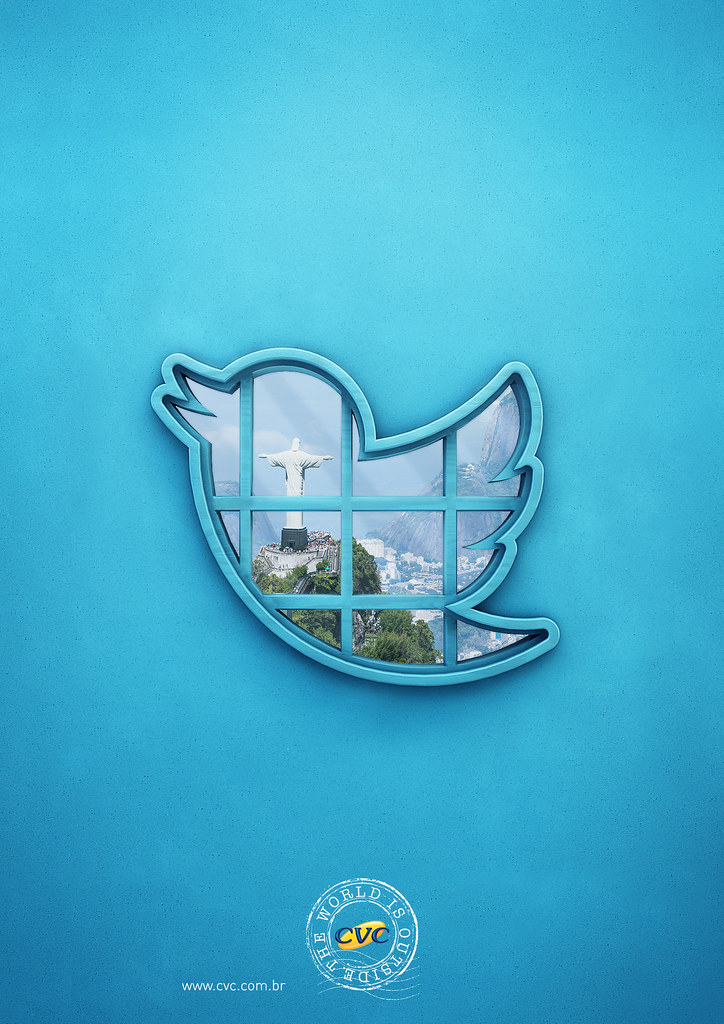 CVC Travel agency - The world is outside Twitter