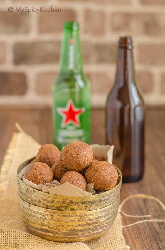 Qihma Vundalu, Qihma Balls, Kheema Balls, Kheema Vundalu, Khyma Vundalu, Khyma Balls, Indian Meat Balls, Indian Food, Deep Fried Food, Blogging Marathon, Journey Through the Cuisines, Telangana Food, Telangana Cuisines,