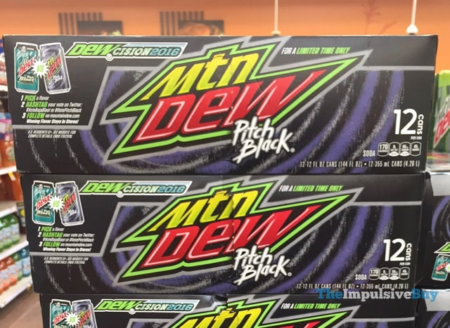 Mountain Dew DEWcision 2016 Pitch Black