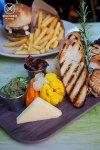 Share Board of warm olives, pickled house veg, vintage cheddar, garlic and Parmesan brushed baguette, $20: The Vic on the Park, Marrickville. Sydney Food Blog Review