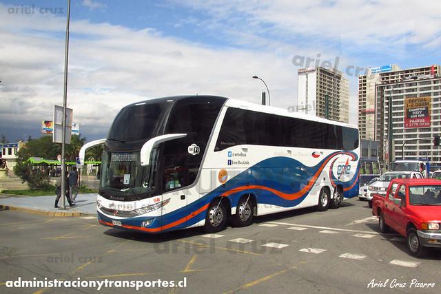 Eme Bus | Santiago, Chile | Marcopolo Paradiso 1600 LD - Volvo (GLZH86) (58)
