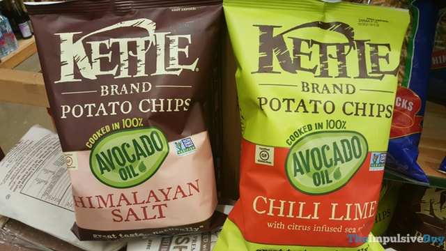 Kettle Brand Avocado Oil Potato Chips (Himalayan Salt and Chili Lime)
