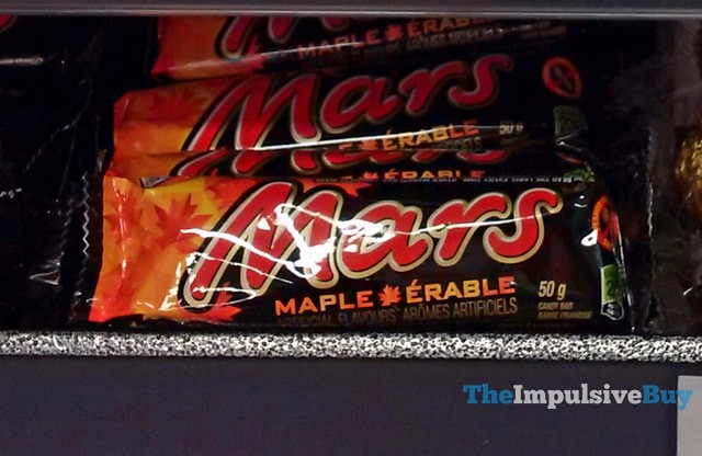 Mars Maple Candy Bar