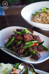 Pad Prik King Crispy Pork Belly, $29.50: Spice I am, Darlinghurst. Sydney Food Blog Review
