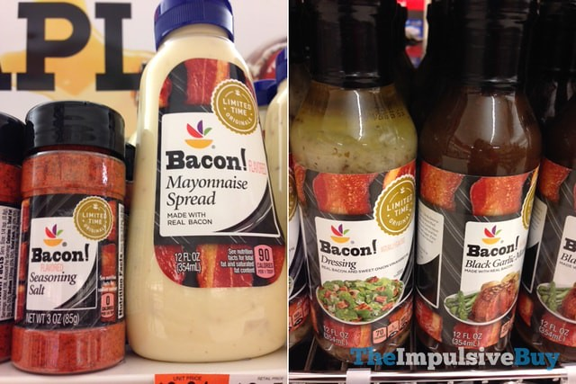 Giant Limited Time Originals Bacon Seasoning Salt and Mayonnaise Spread and Bacon Dressing