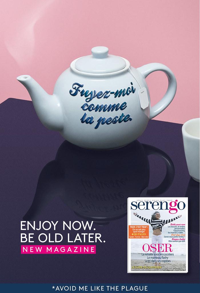 Prisma Media Serengo - Enjoy now. Be old later. 5