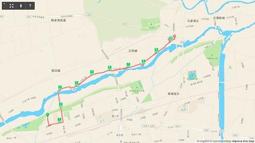 151226 渭河骑行