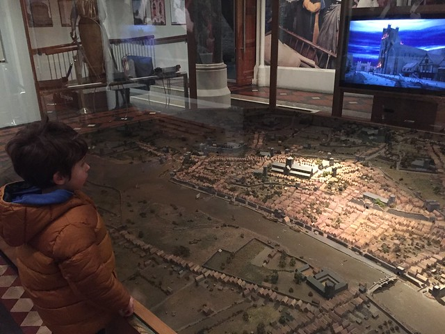 3D map of Dublin in medieval times