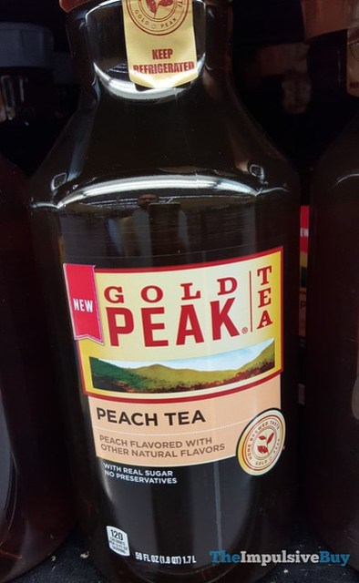 Gold Peak Peach Tea