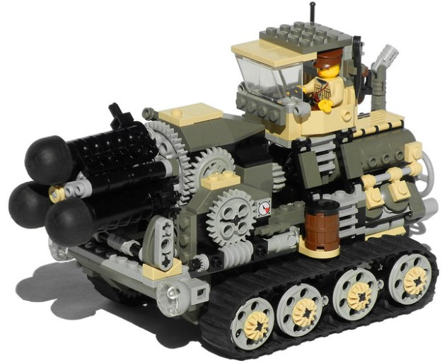 """Hog"" Heavy Diesel Artillery Mk. XXV"