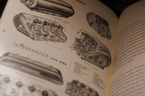 La Marzocco book with vintage machines