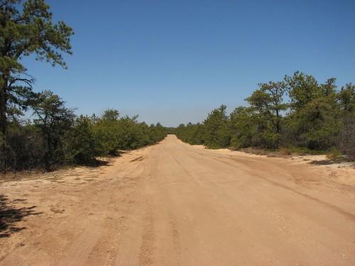 orange dirt road