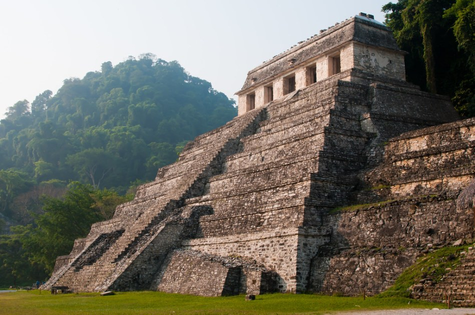 Palenque Ruins - Morning