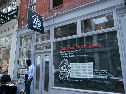 Kidrobot Pirate Store