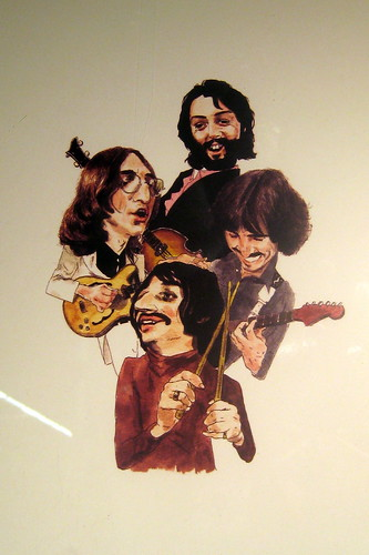 NYC - Chelsea Market - The Beatles caricature