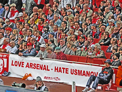 Love Arsenal - Hate Usmanov