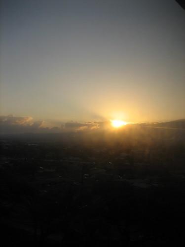 sunrise the next morning
