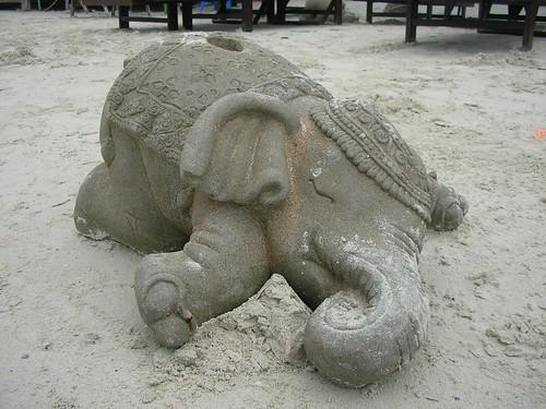 Sleeping Elephant @ Chaweng Beach