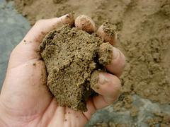 mortar-claysand