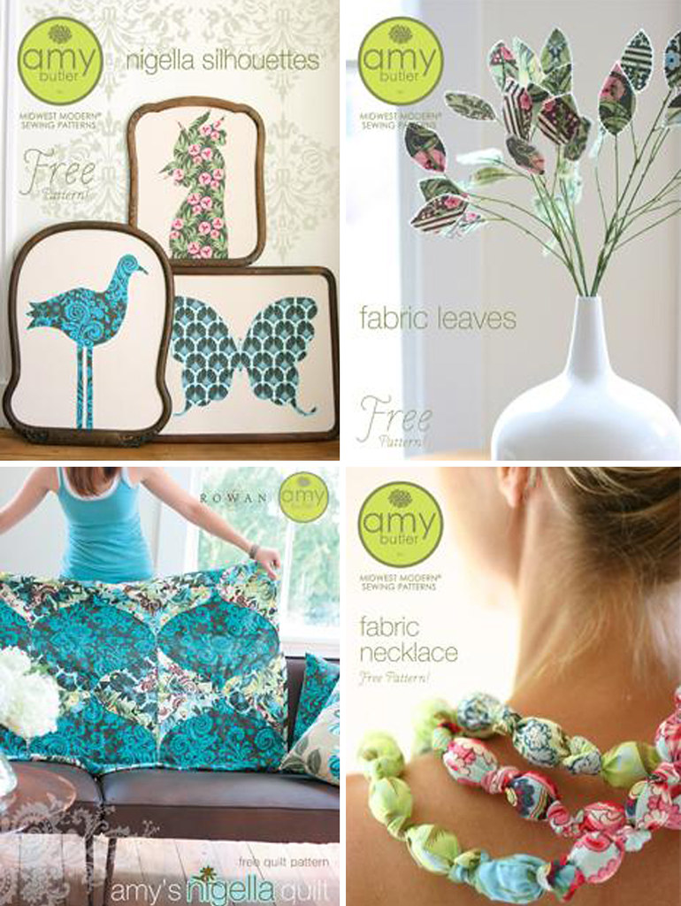 Amy Butler Patterns {Free}