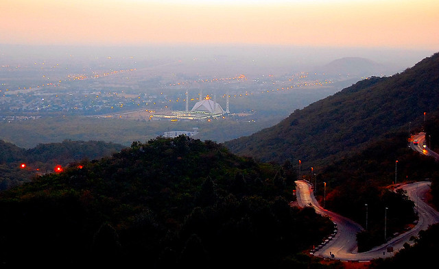Road to Pir Sohawa , Islamabad