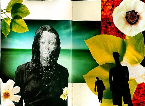 Moleskin collage