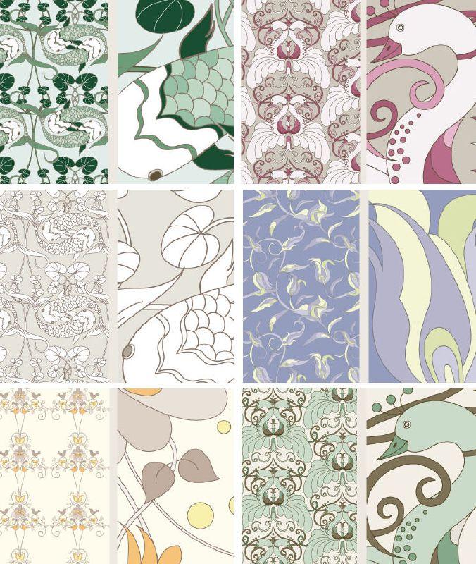 Judit Gueth {new} Wallpaper Designs + Rugs