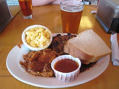 my BBQ plate at Maddy's