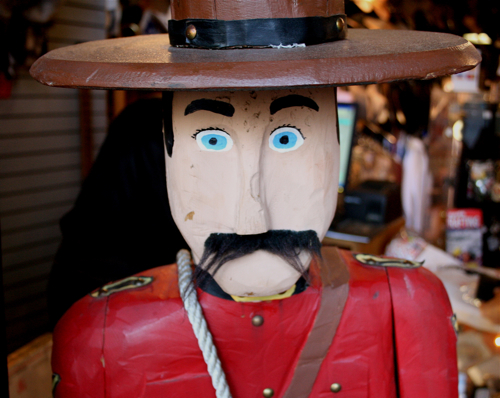 iPhoneless Canadian Mounty