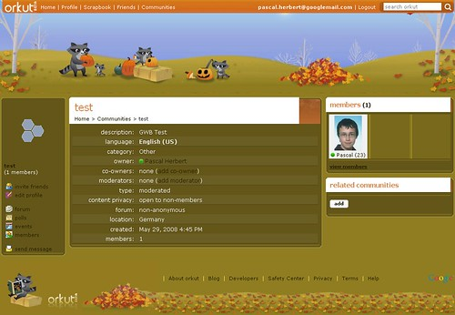 orkut theme - autumn