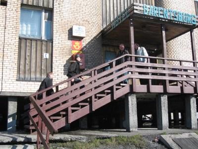 Post office, Barentsburg, Svalbard