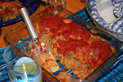 Mom's Mexican Meatloaf