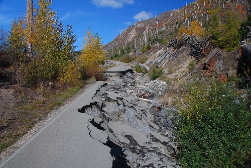 Washout on FS 26