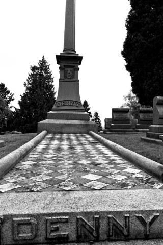 Arthur Denny grave site