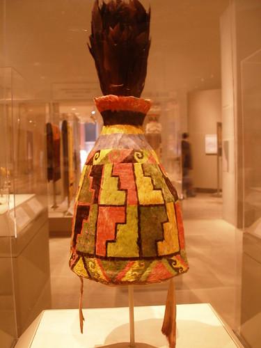 featherwork ancient peru amazon