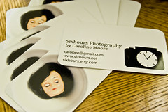 business cards! sixhours photography
