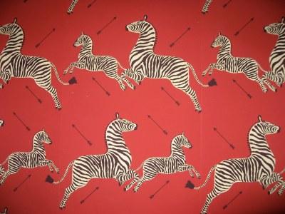 The New Yorker - newsweek: andrewromano: Zebra wallpaper...