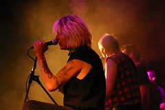 Randy Rampage joins Joe Shithead and his Band of Rebels on stage Dec 6 at the Plaza