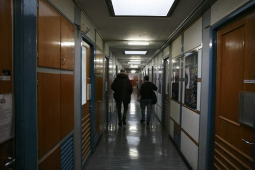 The halls of CERN where the Web was invented