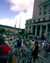 Bike Miami Rally at the Courthouse