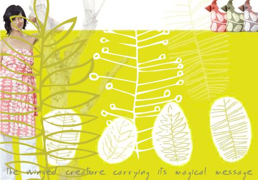Bird Textile {eco in australia}