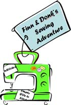 Finny & Donk's Sewing Adventure!