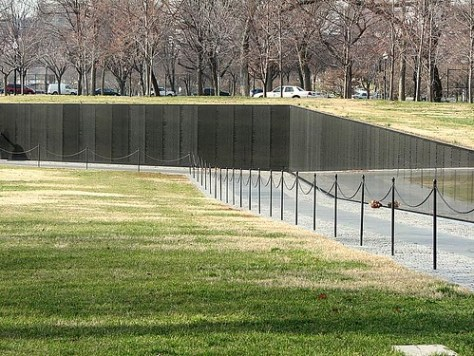 Vietnam Veteran´s Memorial Wall