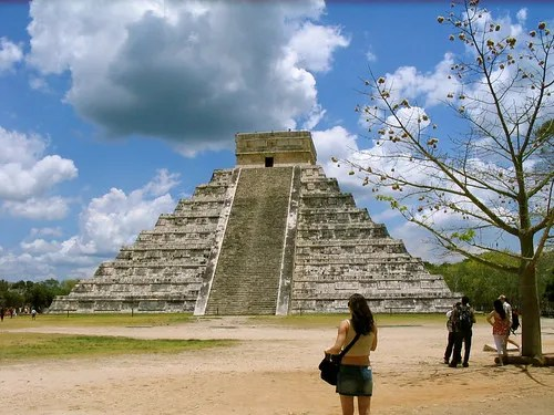 Temple of Kukulcán (El Castillo), Chichen Itza, Mexico