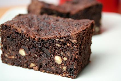 Chocolate Cherry Fruitcake