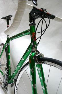 Lynskey's first STEEL bike