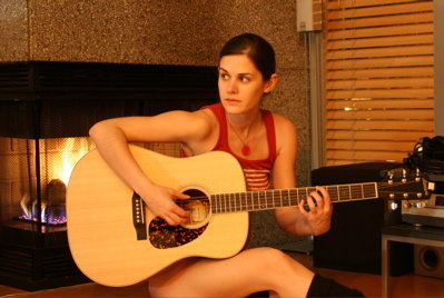 Mostly Lisa i-like-to-play-the-guitar-without-pants-on