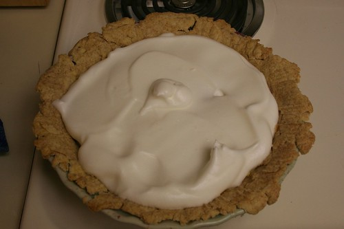 My grandfather's coconut cream pie